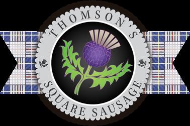 Thomson's Square Sausage Logo
